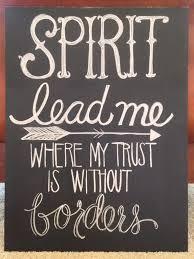 chalkboard oceans lyrics spirit lead me where my trust is