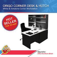 home office corner workstation desk home office corner workstation desk with hutch computer study