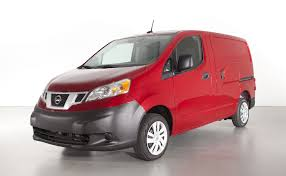 nissan caravan 2013 first drive 2013 nissan nv200 compact cargo van video the