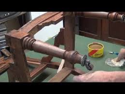 Upholstery Frame Eastlake Chair Upholstery Frame Restoration Youtube