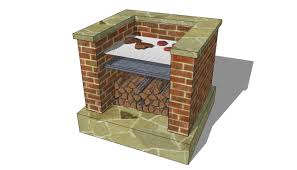 outdoor grill design plans brick bbq plans places to visit