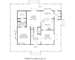 apartments two story house plans with master on second floor