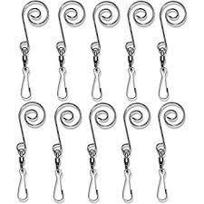 bulk buy darice diy crafts wire ornament hooks silver