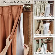 Blackout Curtains Liner Ultimate Thermalogic Tm Blackout Curtain Panel Liner Tab Top