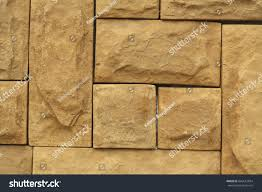 grunge brown stone wall tiles texture stock photo 666613834