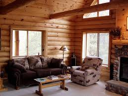 interior of log homes minnesota and wisconsin log cabin builders