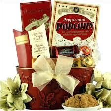 Christmas Cookie Gift Basket Wonderful Holiday Gift Baskets For Clients Basket Ideas Business