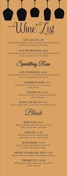 wedding drink menu template italian italian wedding drink menu template free menu template