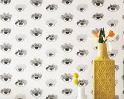 Removable Wallpaper For Renters Removable Wallpaper Muse In Multicolor Adheres To Walls