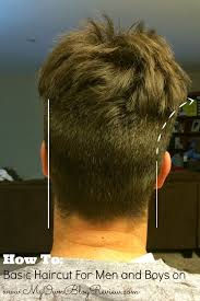 how to cut mens hair