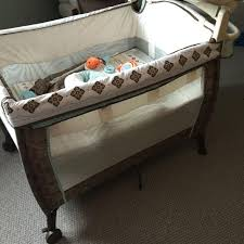Playpen With Changing Table And Bassinet Find More Carters Playpen Euc Incl Travel Bag Newborn Bassinet