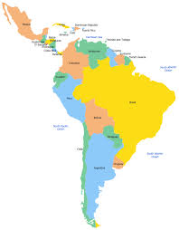 map of mexico south america map of mexico south america major tourist attractions maps