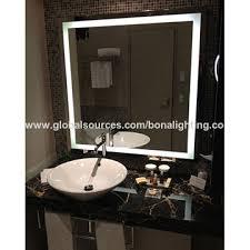 Led Backlit Bathroom Mirror China Ip44 Led Backlit Bathroom Mirror From Zhuhai Wholesaler