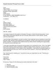 assistant principal cover letter samples assistant principals