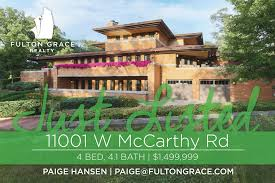 frank lloyd wright robie house replica for sale in palos park
