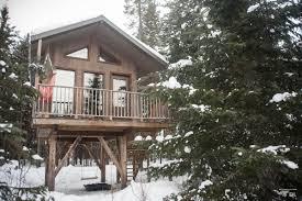 Cabane En Montagne Dormir Dans Une Cabane Dans Les Arbres Au Québec Détour Local