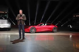 tesla supercar 2020 tesla roadster unveiled starts at 200 000 automobile magazine