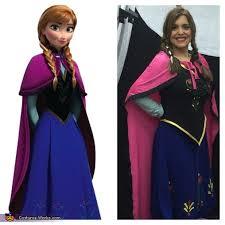 Anna Frozen Costume Frozen Elsa And Anna Costumes Photo 4 4