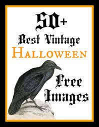 50 free vintage halloween images graphics fairy