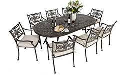 Aluminium Patio Sets Metal Garden Furniture Aluminium Patio Furniture Outside Edge