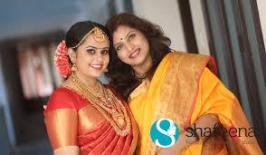 bridal make up kerala shafeenaz
