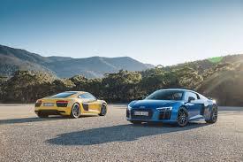 lexus isf vs audi r8 2016 audi r8 v10 and v10 plus coupe arrives in australia
