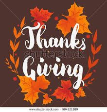 happy thanksgiving day background leafs stock vector 514031056