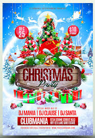 25 christmas u0026 new year party psd flyer templates web u0026 graphic