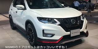 silver nissan rogue 2016 nissan rogue gets nismo body kit in japan during x trail mid life