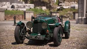 vintage aston martin convertible 1935 aston martin ulster le mans works racer drivetribe