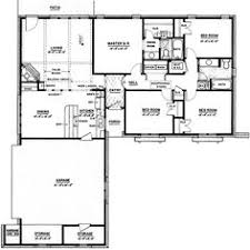 Ranch Style House Plans With Garage Ranch Style House Plans 2086 Square Foot Home 1 Story 4