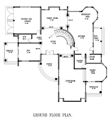 floor plans for large homes ground floor plan for home luxury ghana house plans ghana home