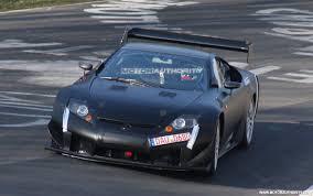 lexus lfa race car lexus lfa prototype confirmed for nürburgring 24 hours race
