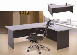 Office Desks L Shape by Office Modern L Shape Table Desk Ofmn1818l Furniture Malaysia