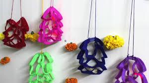 how to make decoration at home diy diwali decoration at home idea how to make felt paper