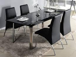 table de cuisine en verre trempé table à manger extensible en verre trempé pas chère avec vente unique ch