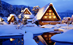 Beautiful Cottage Beautiful Cottage For Holidays Hd Winter Wallpaper
