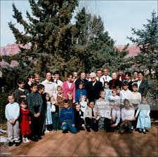 Family In The Garden In Focus Polygamist Family Portraits Photos And Images Getty Images