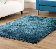 Solid Color Rug Teal Shaggy Rug Roselawnlutheran