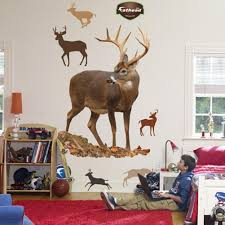 amazon com fathead deer wall graphic home kitchen