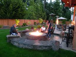 Wood Firepits Pits Gas Grill Pit Combo Coleman Wood Burning And Outdoor