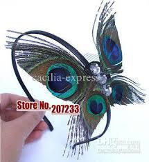 peacock headband hair butterfly peacock feather headband fascinator buy hair