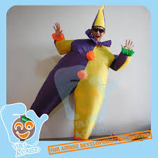Fat Suit Halloween Costume Buy Unisex Halloween Costumes Inflatble Yellow Purple Clown