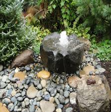 Small Patio Water Feature Ideas by Rocks Gardens Water Fountain Water Features Gallery Stonewood
