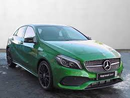 green mercedes a class used mercedes benz a class hatchback diesel in elbaite green from