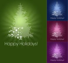 banners sets sparkling multicolored fir tree design free