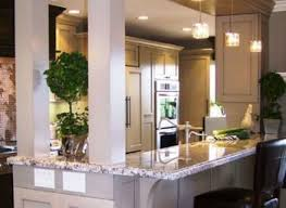 Kitchen Half Wall Ideas Breakfast Bar Kitchen Kitchen Half Wall Saffroniabaldwin