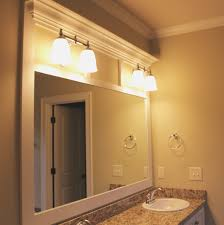 bathroom mirror frame ideas bathroom top how to frame bathroom mirror design ideas fancy at