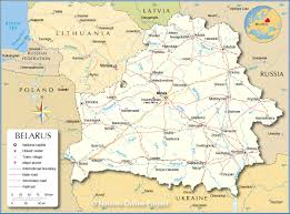 Map Of Eastern European Countries Political Map Of Belarus Nations Online Project
