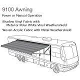 Dometic Weather Pro Awning Amazon Com Dometic 3310423 209b Polar White Weatherpro And Power